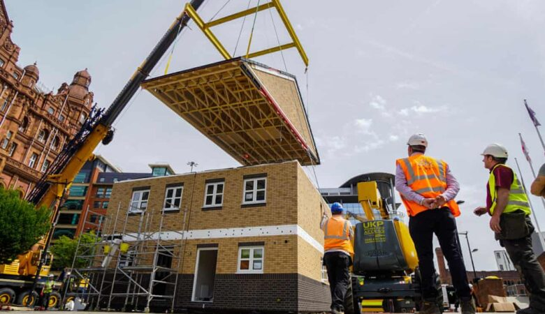 UK housebuilding revolution': £65,000 prefab homes go into production